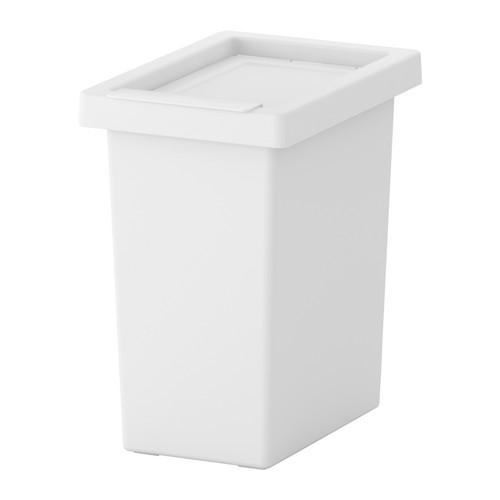 Box na čistící mřížku - bílý